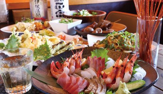 京都府蒲入漁港から直接取り寄せた鮮度抜群の海鮮は、思わず舌鼓を打ってしまう逸品!!