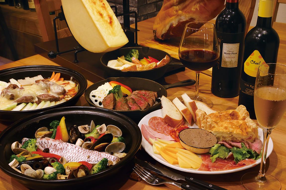 とろ〜りとろけるチーズ三昧なパーティーを! 今だけの冬期限定メニューも続々登場中!!