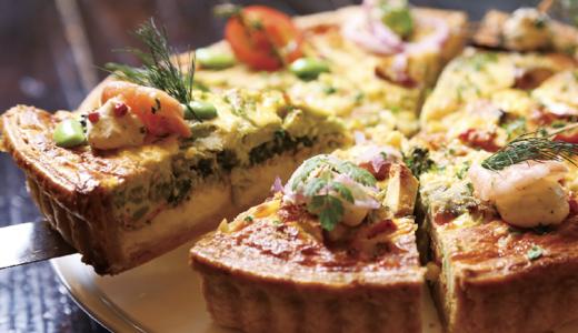 ランチ&カフェタイムに美味しいパイを食べながら、ほっこりデートを楽しみませんか?