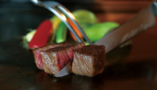 口いっぱいに広がる極上肉は 特別な時間の最高の演出。
