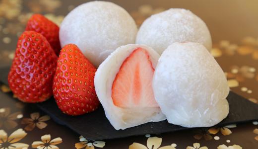 """お馴染みの""""さくら屋さん""""は、昔ながらの製法で作った季節を感じる美味しい和菓子が並ぶお店。"""