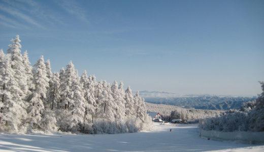 全長2.5kmのロングコースが楽しめる八ヶ岳エリア最大級のスキー場