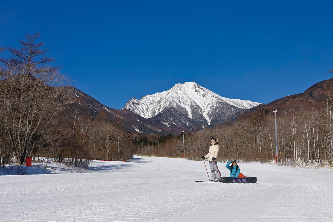 晴天率80%の爽快ゲレンデ!!最新スノーマシンから造り出される上質なコンディションで滑走可能なスキー場
