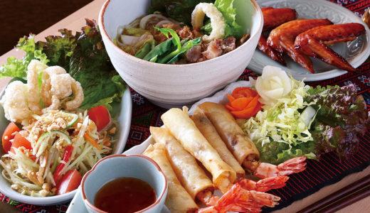 本国タイのホテルで活躍したシェフが作る本格派の味。