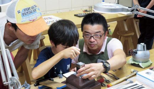 家族みんなでおそろいのジュエリー作りに挑戦♡お子さんの夏休みの工作にも!!